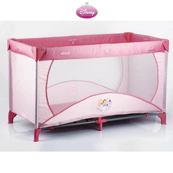 baby reisebett hauck disney princess luxe babybett neu ebay. Black Bedroom Furniture Sets. Home Design Ideas