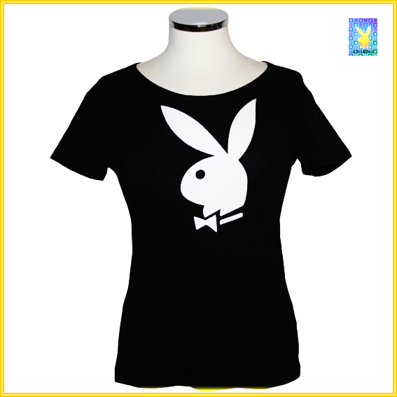damen t shirt von playboy t shirt modell 3 ebay. Black Bedroom Furniture Sets. Home Design Ideas