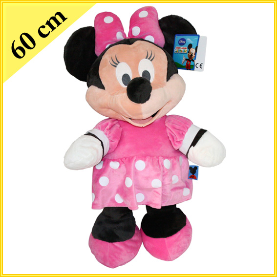 mickey o minnie mouse pl sch 60 cm pl schtier stofftier. Black Bedroom Furniture Sets. Home Design Ideas