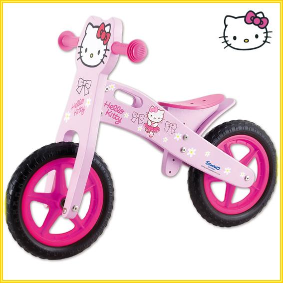 Hello Kitty O Spongebob Pedalilegno Biciscooterlauflernradbambini Ebay