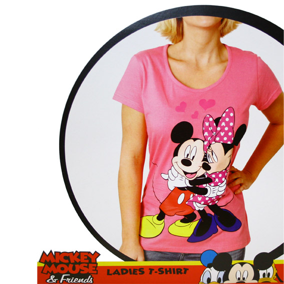 ladies t shirt minnie mouse mickey mouse mickey mouse. Black Bedroom Furniture Sets. Home Design Ideas
