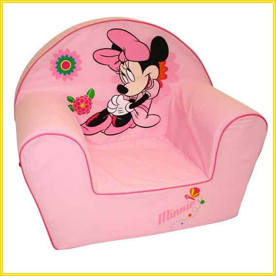 Disney Minnie Mouse Sofa m. Bezug aus Baumwolle / Couch Stuhl Sessel ...