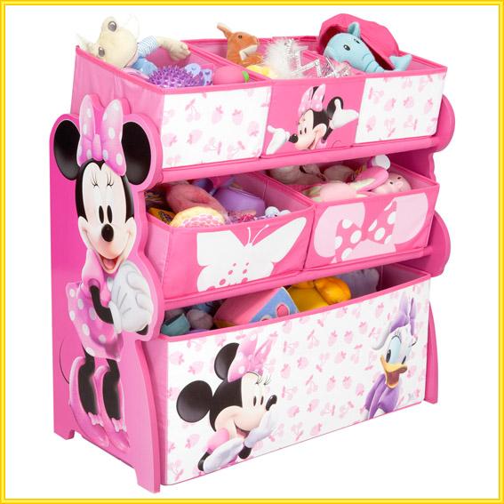 minnie mouse regal kinderregal kinderm bel m bel spielzeugkiste minni maus holz. Black Bedroom Furniture Sets. Home Design Ideas