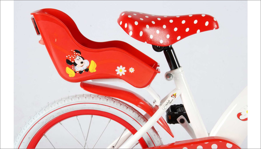 minnie mouse kinderfahrrad 16 zoll kinder fahrrad 4 6. Black Bedroom Furniture Sets. Home Design Ideas