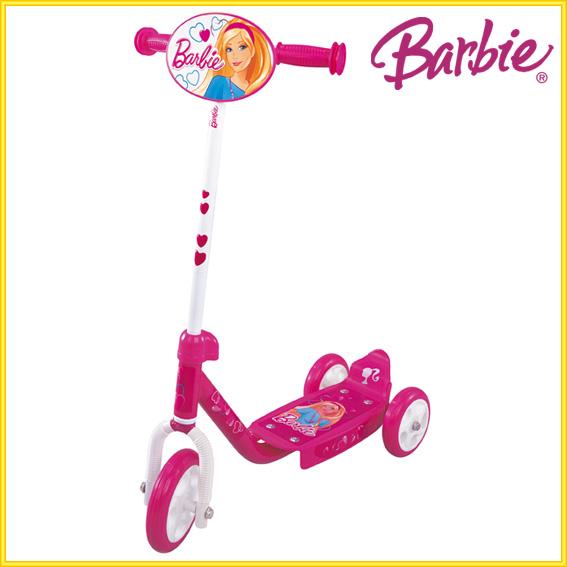 barbie kinder scooter tretroller dreirad kinderroller. Black Bedroom Furniture Sets. Home Design Ideas