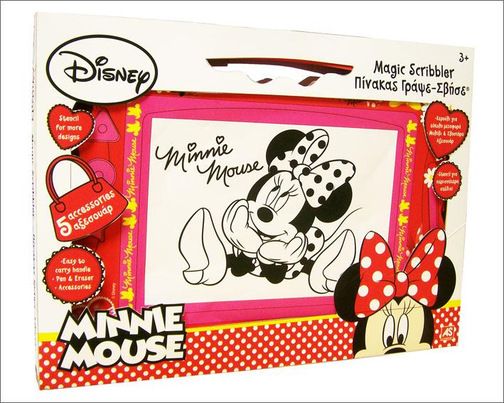 minnie mouse magnettafel kinder spielzeug tafel schreibtafel maltafel minni maus ebay. Black Bedroom Furniture Sets. Home Design Ideas
