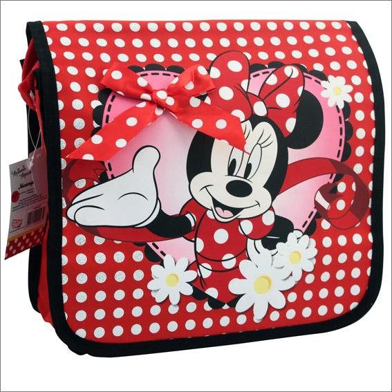 disney minnie mouse tasche 30 x 30 cm schultertasche kindertasche minni maus 867 ebay. Black Bedroom Furniture Sets. Home Design Ideas